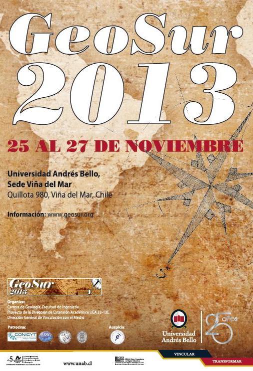 Geosur 2013 - Santiago de Chile - Universidad Andrés Bello